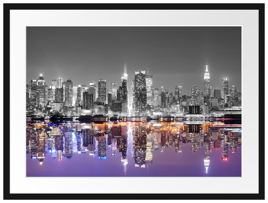 Manhattan Skyline Passepartout 80x60