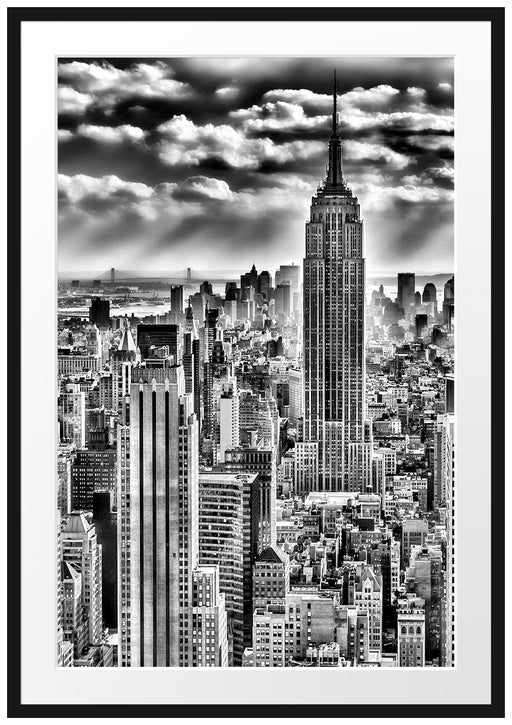 New York, Manhattan Passepartout 100x70