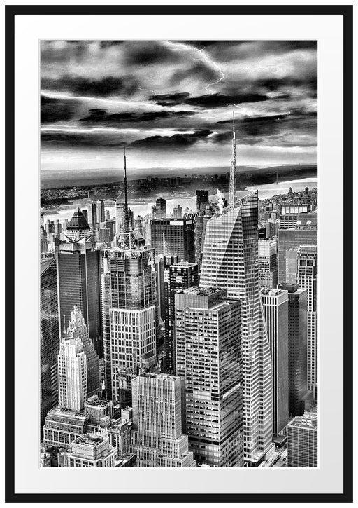 Skyline New York Passepartout 100x70