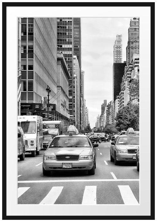 Taxi in New York City Passepartout 100x70