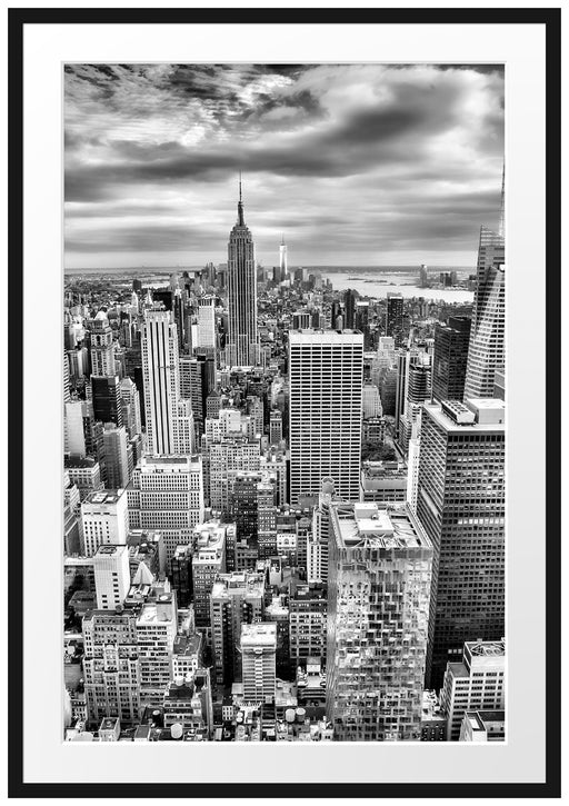 Skyline von New York Passepartout 100x70