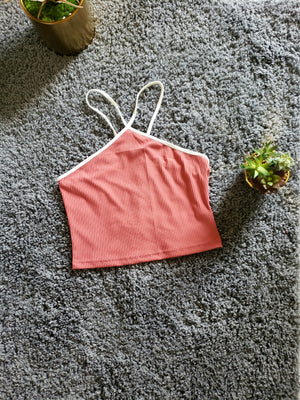 Halter Cross Crop Top