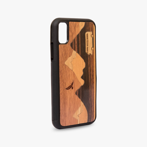 Sierra Madre Case - Kool Mixed Wood iPhone Case