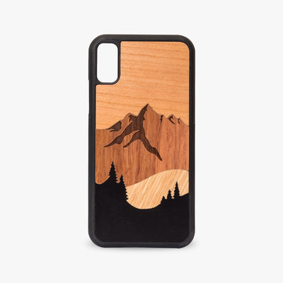 Mount Apo Case - Kool Mixed Wood iPhone Case
