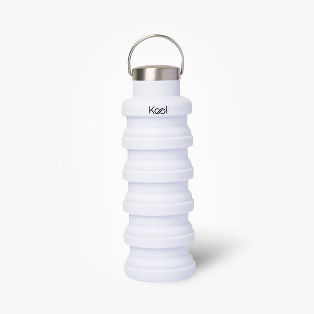 Aspen Bottle - Kool White Foldable Bottle