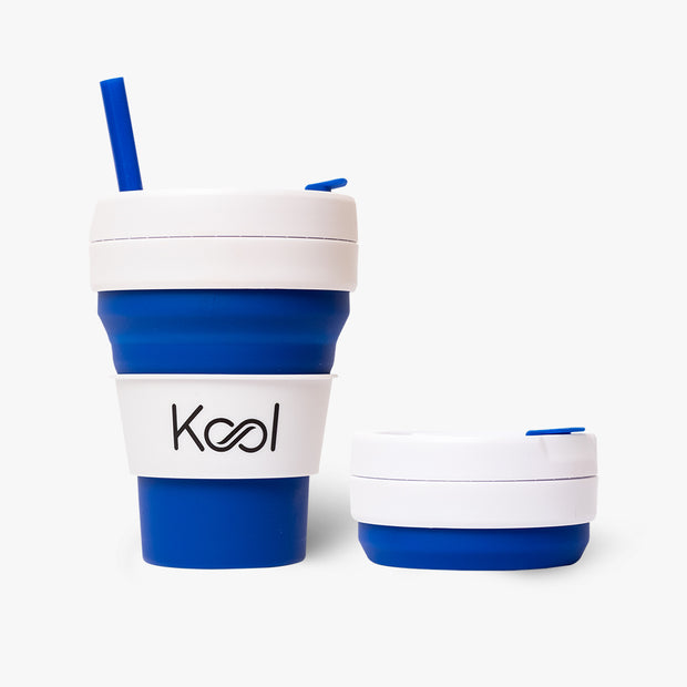 Royal Cup - Kool Blue Foldable Cup