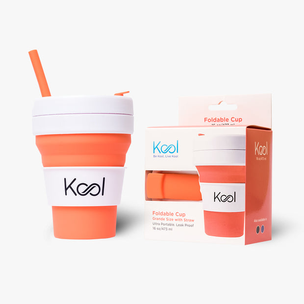 Coral Cup - Kool Coral Foldable Cup