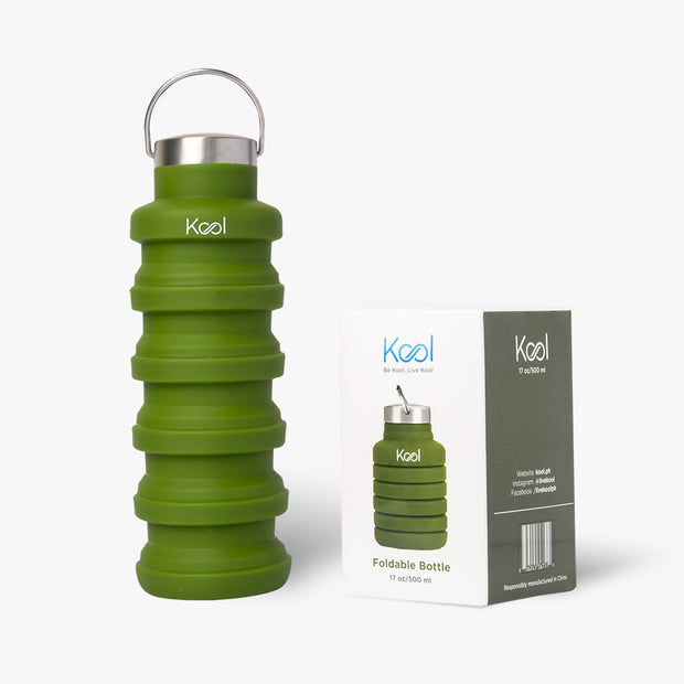 Kyoto Bottle - Kool Green Foldable Bottle