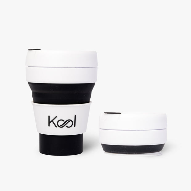 Midnight Cup - Kool Black Foldable Cup