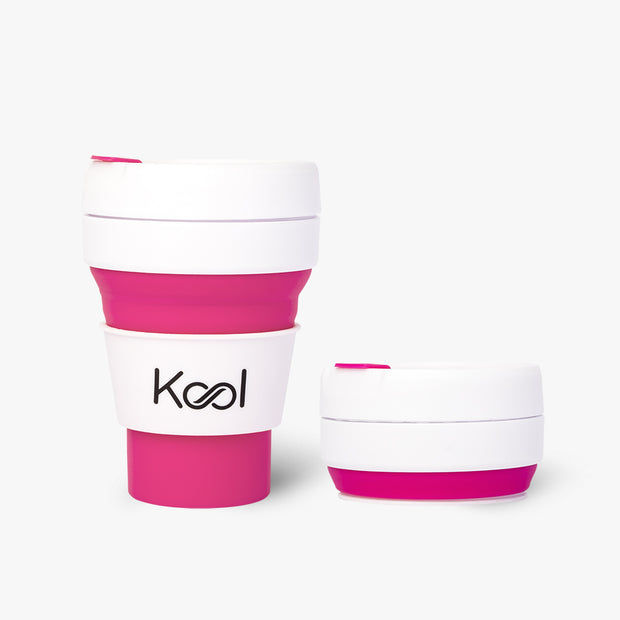 Flamingo Cup - Kool Pink Foldable Cup