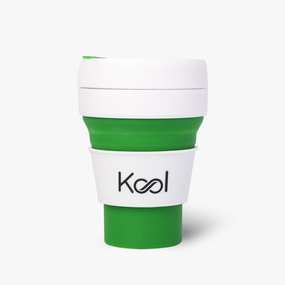 Peppermint Cup - Kool Green Foldable Cup