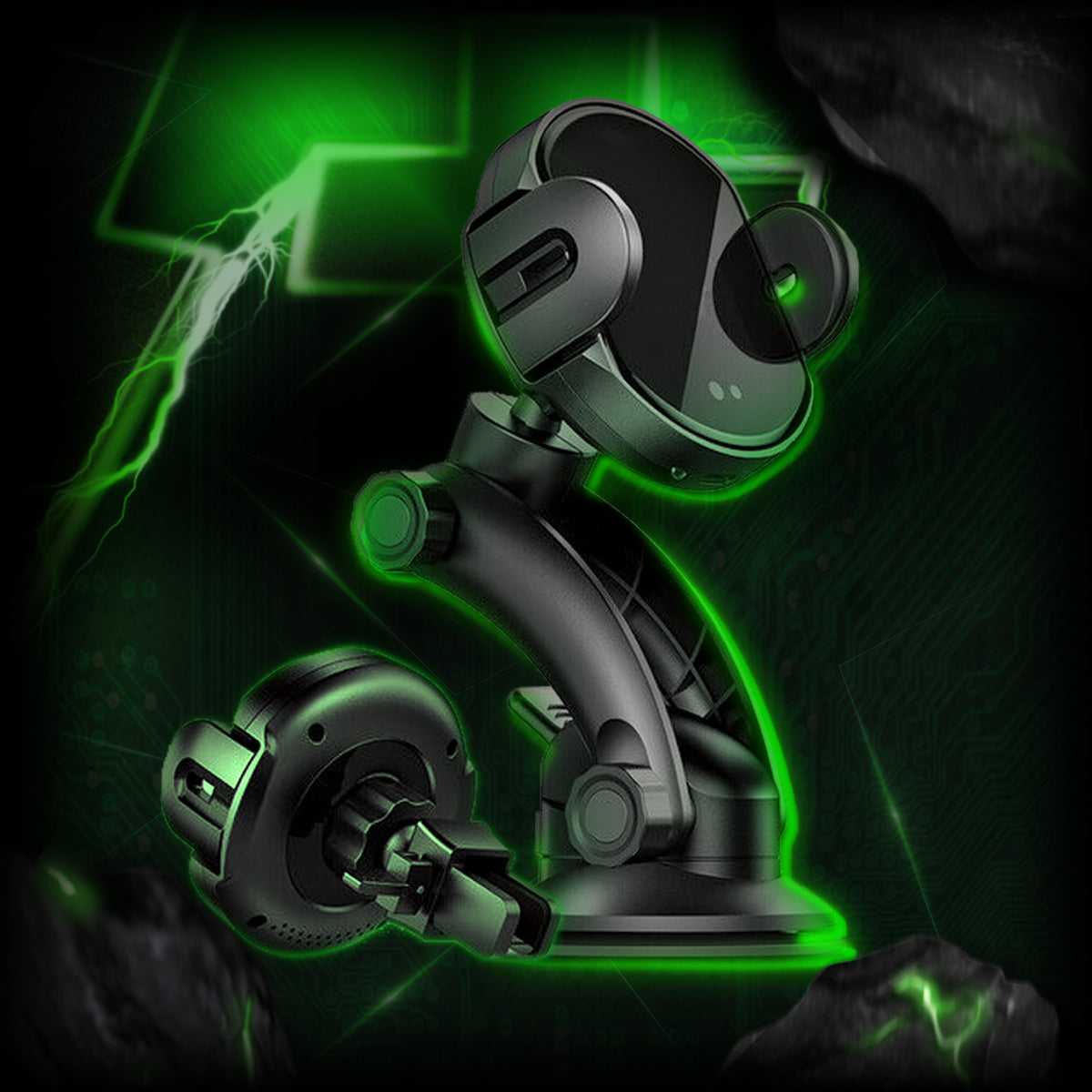 Titan Dual Mount Wireless Car Charger™