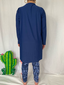 Navy stripes burkini