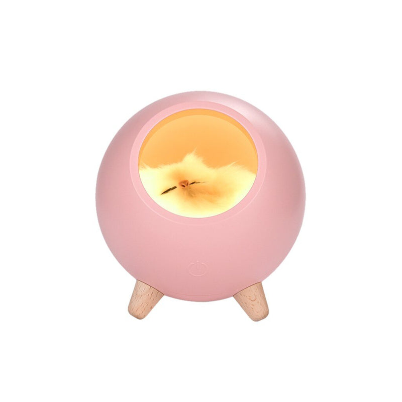 2019 Fashion Cute Cat Pet House Ambience Lamp Usb Charging Cute Cartoon Mini Led Night Light Home Decoration Dropship #92538