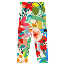 Load image into Gallery viewer, Wild Garden Leggings 2-8yrs