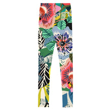 Load image into Gallery viewer, Summer Garden Youth Leggings 8-15yrs