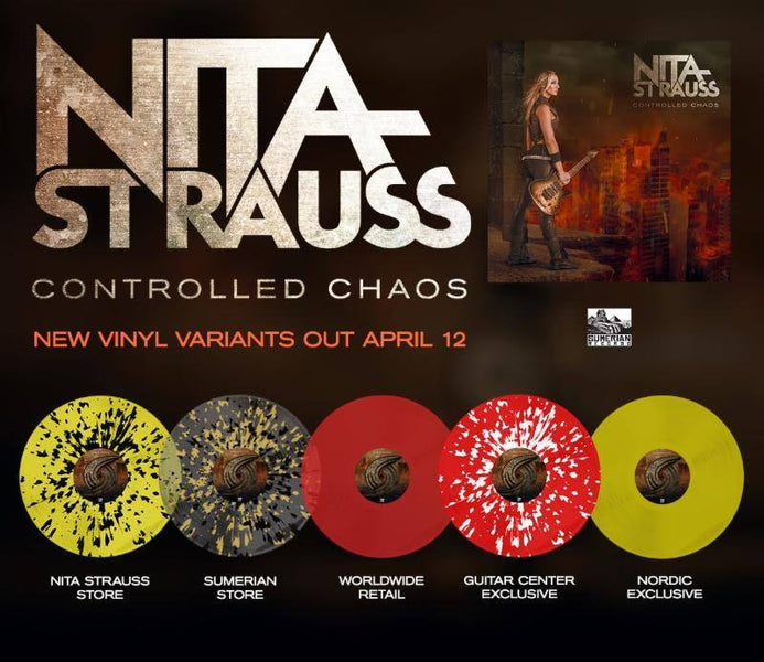 CONTROLLED CHAOS VINYL RELEASE DATE ANNOUNCED