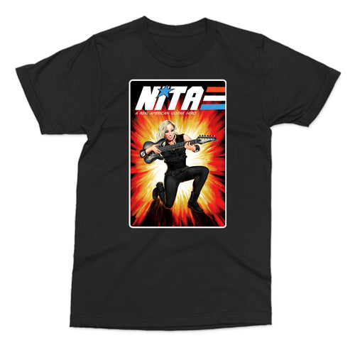 Nita Strauss Gi Joe style Real American Guitar Hero shirt