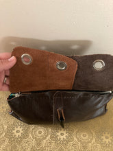 Load image into Gallery viewer, Brown Triple Grommet Clutch