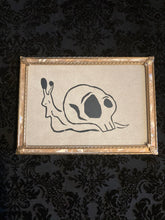 "Load image into Gallery viewer, ""Snail"" Framed Print"