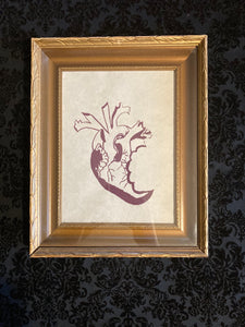 """Eat Your Heart Out"" Framed Print"