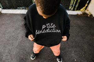P'tite Bénédiction Kids Crewneck