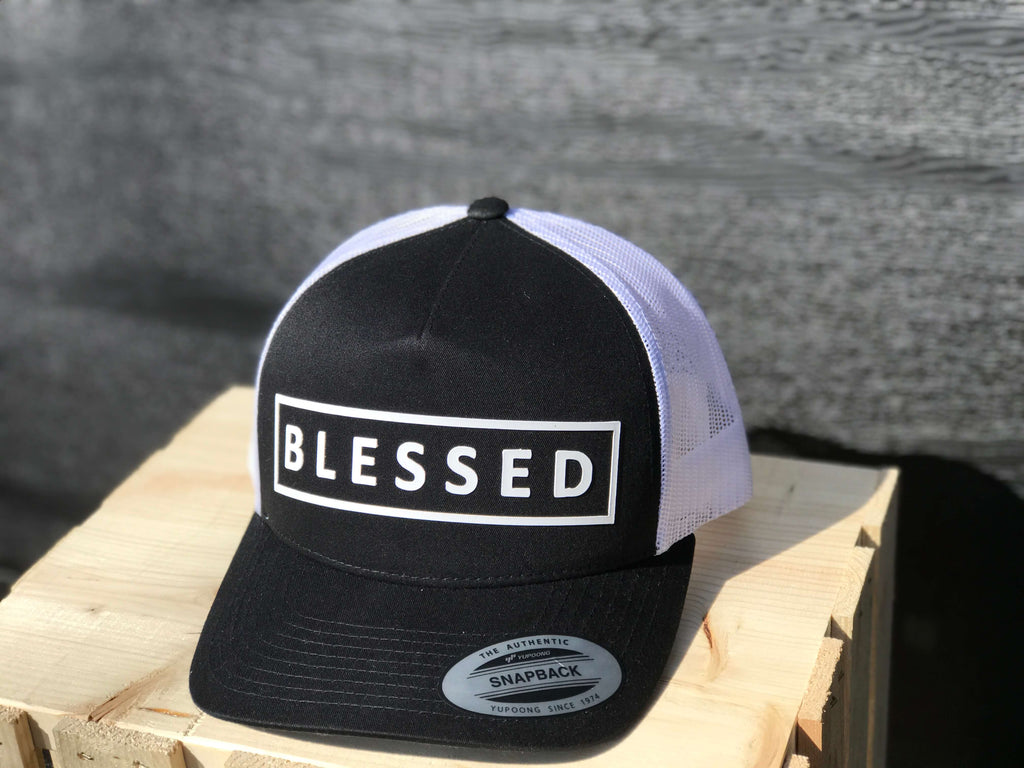 BLESSED Snapback Retro Trucker Hat