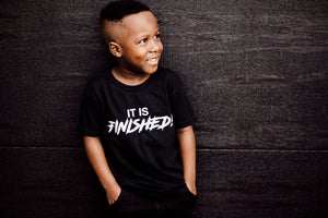 It is Finished Kids T-shirt
