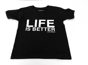 Life is Better with JESUS Adult T-shirt