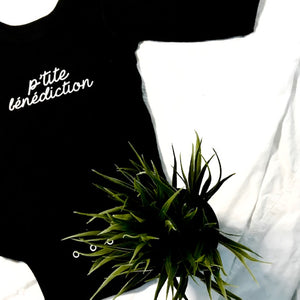 P'tite Bénédiction baby bodysuit-Long Sleeves