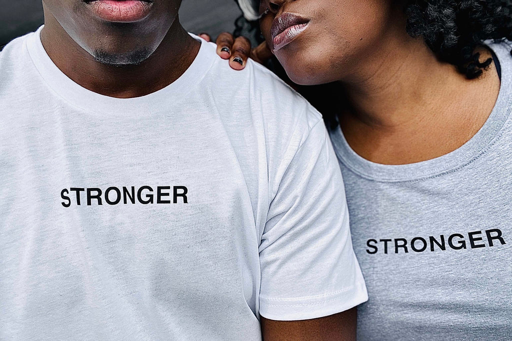 STRONGER Adult T-shirt