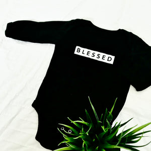 Blessed Baby Bodysuit-Long Sleeves