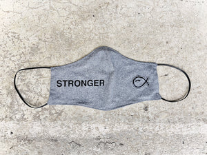 STRONGER Face Mask GREY