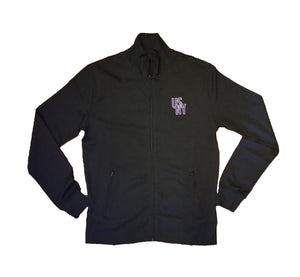 USNY Men's Track Jacket, Performance Fleece