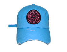 Load image into Gallery viewer, (NEON Blue) USNY distressed Dadhat