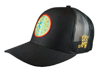 Load image into Gallery viewer, (Black) USNY Mesh/Twill Snapback Hat