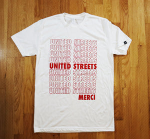 United Streets T-Shirt (White/Red)