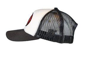 (Black/White) USNY Mesh/Twill Snapback Hat