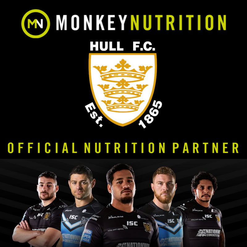 Monkey Nutrition Become Hull FC's Official Nutrition Partner