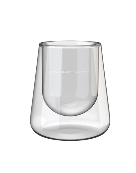 DropCup |DuoGlass| All Purpose Cocktail and Whiskey Glass