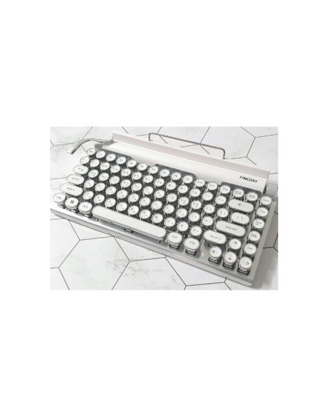 Retro-Inspired Keyboard by FINEDAY
