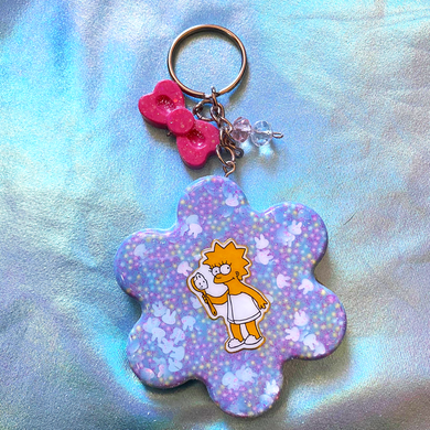Resin Keychain Series: Spongebob, Hello Kitty, The Simpsons and Winnie the Pooh