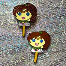 Load image into Gallery viewer, BB.CRE-8 x Perfect Humans Blind Bag Moonie Bubblegum Popsicle Pin Series! (Inner Scouts)