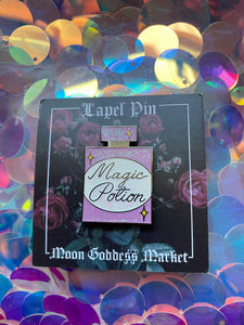 Magic Potion Glitter Pin