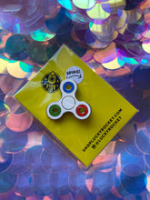 Load image into Gallery viewer, Fidget Spinner Enamel Pin - SPINS!