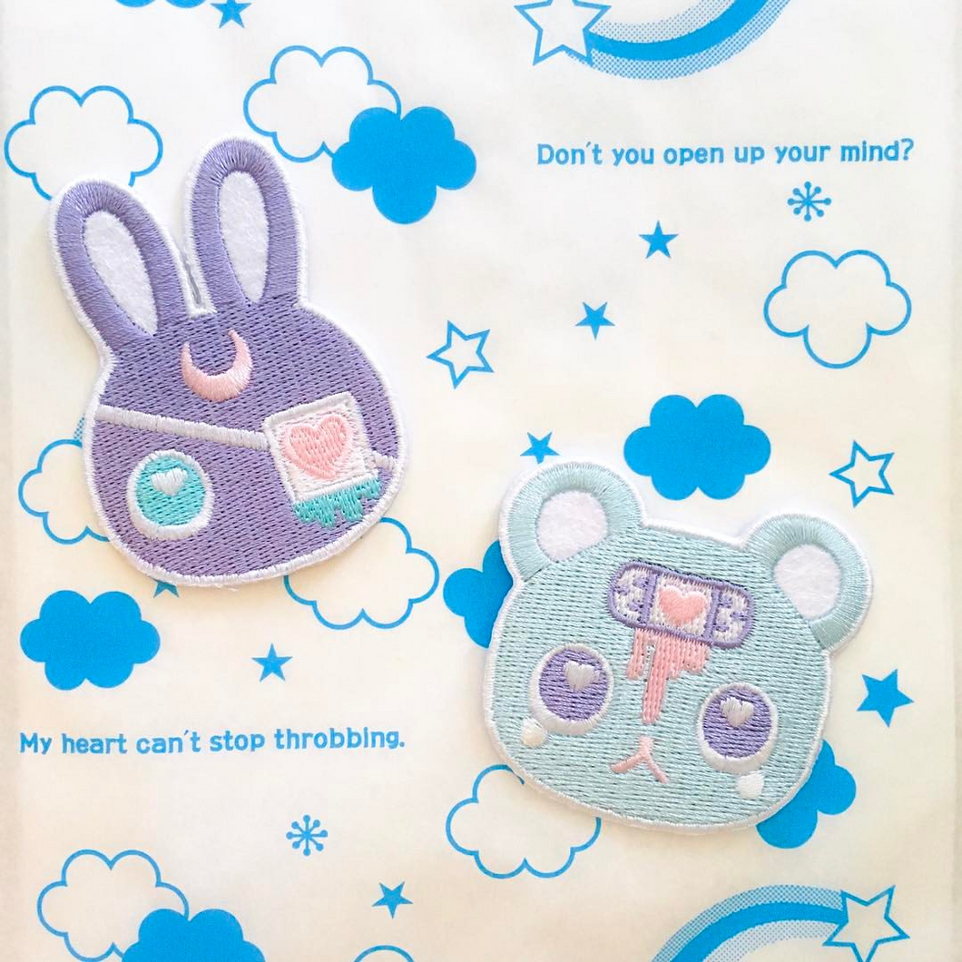 Moon Bunny & Lovesick Bear Patches
