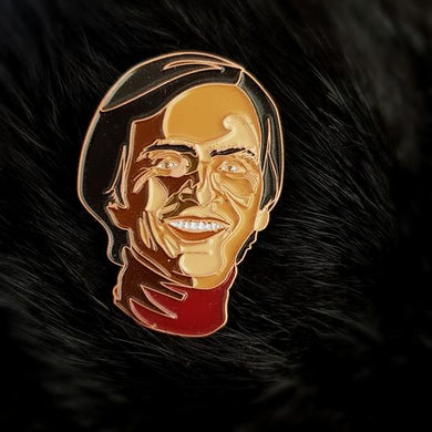 Carl Sagan Enamel Lapel Pin / Brooch