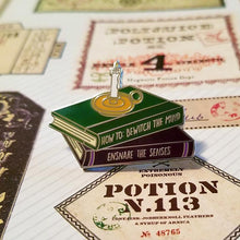 Load image into Gallery viewer, Potion Books Enamel Pin