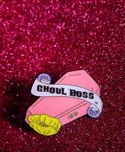 Load image into Gallery viewer, Ghoul Boss Coffin Pin