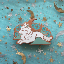 Load image into Gallery viewer, Sleepy Wolf - Rose Gold
